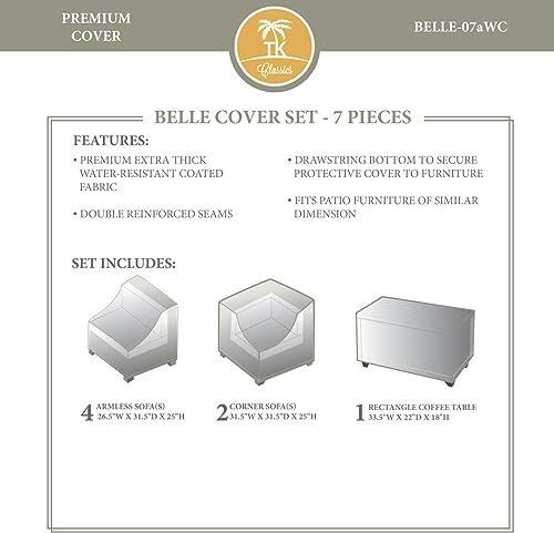 TK Classics BELLE-07aWC Belle Winter Cover Set