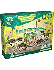 Science4you - Excavaciones fósiles 5 en 1 - Juguete científico y Educativo