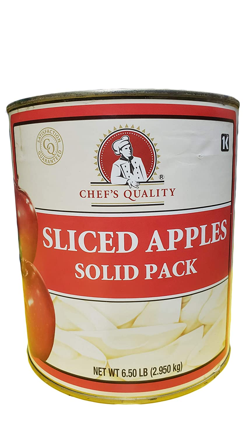 Chef's Quality - Sliced Apples - 6 lb can
