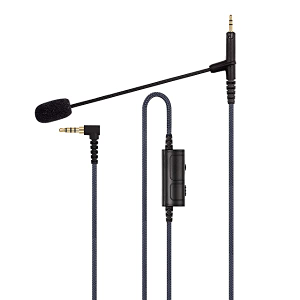 Cable Boom Microphone - Volume Control for Playstation PS4 or Xbox One Controller, PC - Boompro Gaming Mic Compatible with Audio Technica ATH-M50x, ATH-M40x, ATH-M70x Headphones(150CM) (Color: For-ATH-M40/50/70X)