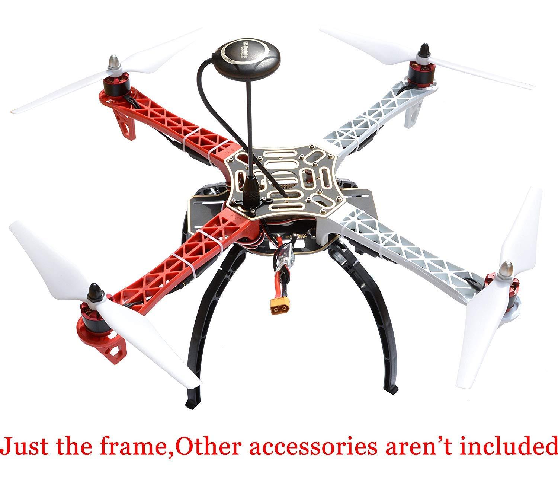 Amazon com: F450 Quadcopter Kit Frame with Heighten Broaden