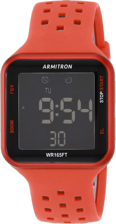 Armitron Sport Unisex 40/8417 Digital Chronograph Silicone Strap Watch
