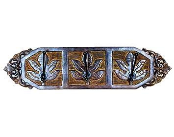 Stylla Londres Tallada a Mano diseño de Hojas de Arce de ...