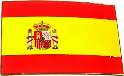 Bandera de España con hebilla, hebilla, Viva Espania: Amazon.es ...