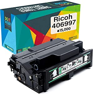 Do it Wiser Compatible Toner Cartridge Replacement for 406997 Ricoh SP 4310N SP 4100N SP 4210N SP 4110N   402809 (15,000 Pages)