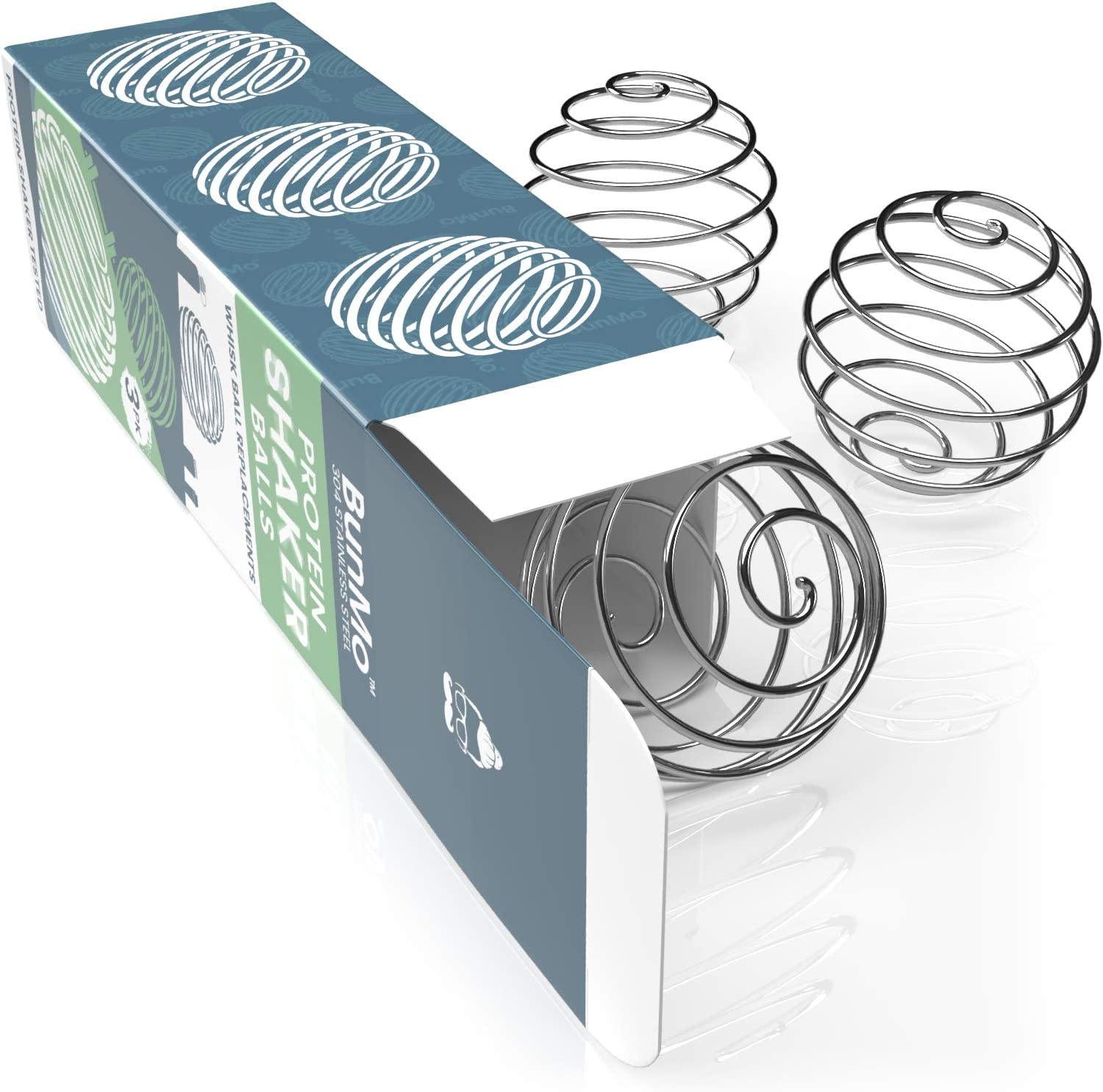 BUNMO Whisk Ball Shaker Balls - For Protein Shakes - 3 Pack