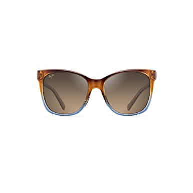 2299317a02 Maui Jim Sunglasses Alekona HS79-18B Caramel with Blue Fashion Frame with  Patented PolarizedPlus2 Lens