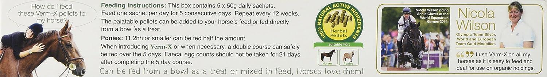 Verm-X Granul/és pour chevaux et poneys 1,5/kg