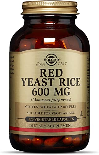Solgar Red Yeast Rice, 120 Vegetable Capsules