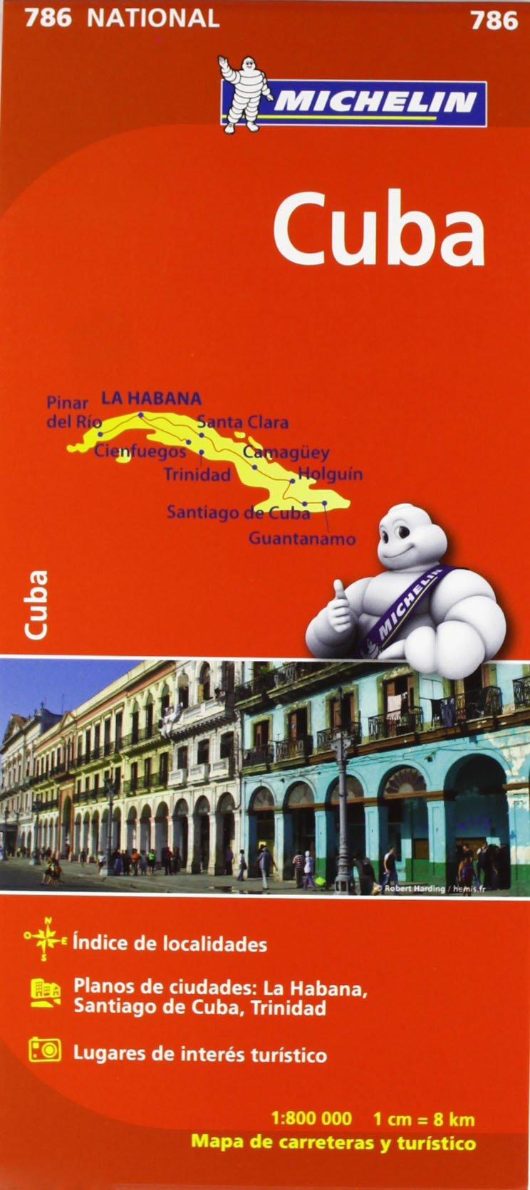 Mapa National Cuba (Mapas National Michelin): Amazon.es: Vv.Aa, Vv.Aa: Libros