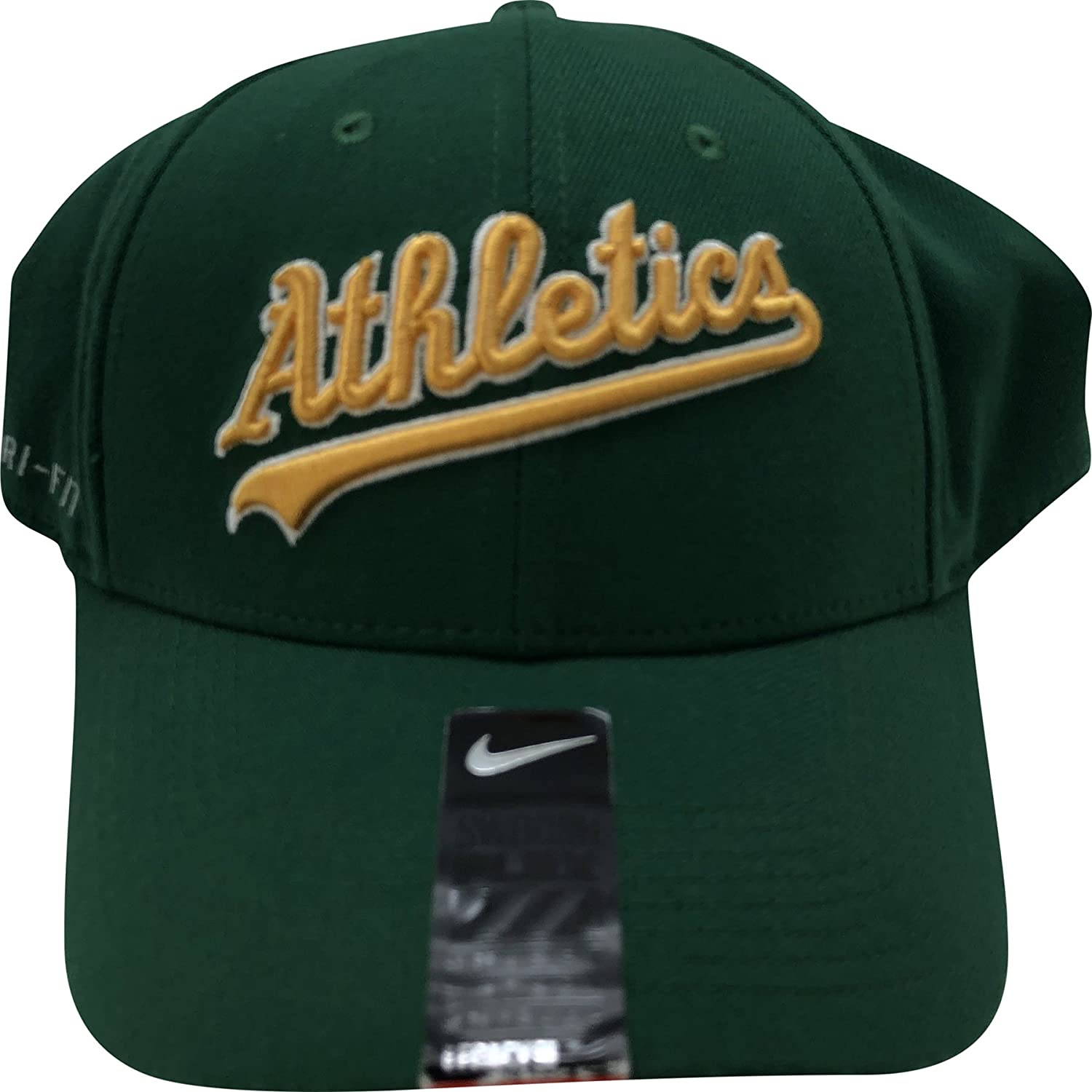 Amazon.com   Nike Oakland Athletics Dri-Fit Flex Hat   Sports   Outdoors de276afc5042