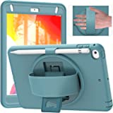 ZenRich iPad Mini 5 Case 2019 iPad Mini 4 Case 2015 zenrich Shockproof Rugged Case with Screeen Protector Pencil Holder Kicks