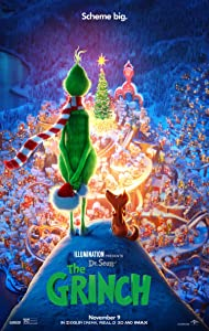 THE GRINCH MOVIE POSTER 2 Sided ORIGINAL FINAL 27x40 DR. SEUSS BENEDICT CUMBERBATCH
