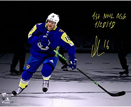 Aleksander Barkov Florida Panthers Autographed 16 quot  x 20 quot  NHL All-Star  Game Photograph a8b90c789