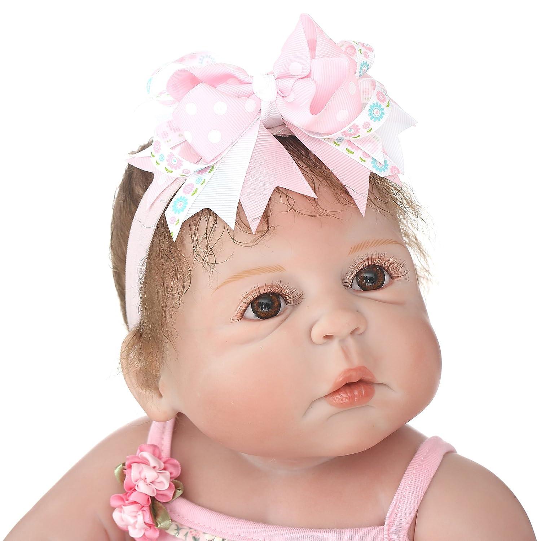 Amazon.com: Muñecas de bebé Reborn de 22.0 in, muñecas ...