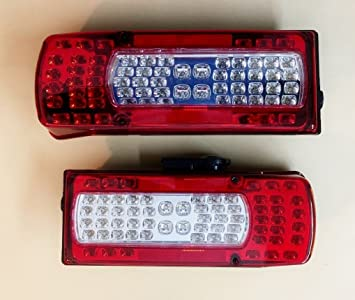 vnvis VOLVOFH12 FM12 FH16 trasera LED luces de combinación OEM Replacement 20910229 20425732: Amazon.es: Coche y moto