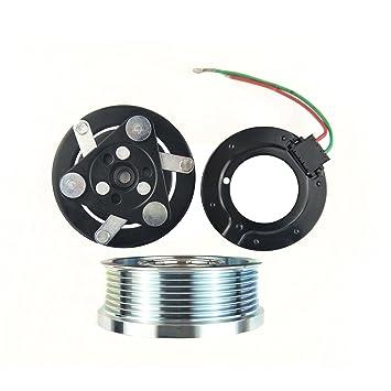 wisepick AC Compresor de magnético embrague para Sanden trse07 trse09 Honda Civic CRV 7pk 12 V