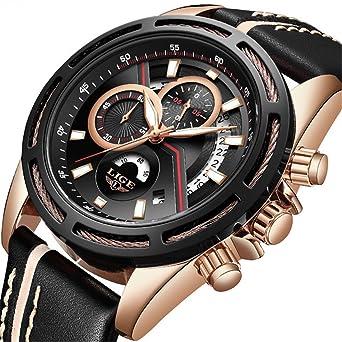 Herren Uhren Top Marke Luxus Sport Chronograph Business Quarzuhr