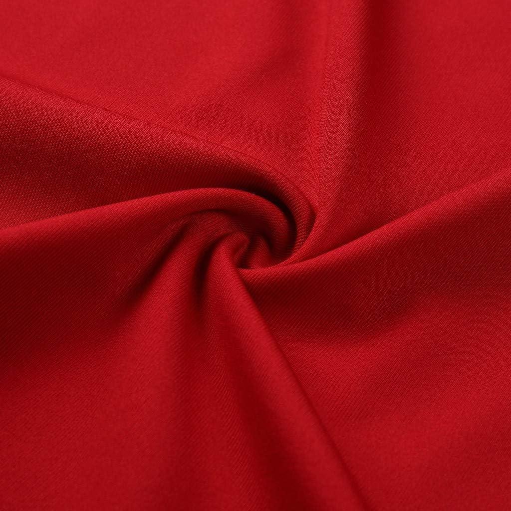 VEMOW Camisetas sin Mangas Mujer Playa De Verano Estampado Cuello Halter Camisas De Chaleco Club Fuera del Hombro Blusa De Las Se/ñoras Fiesta Nocturna Cami Tops para Mujeres