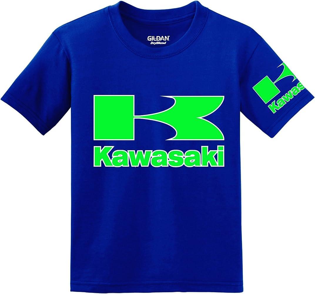Kawasaki - Camiseta - para hombre azul azul XXXXX-Large: Amazon.es: Ropa y accesorios