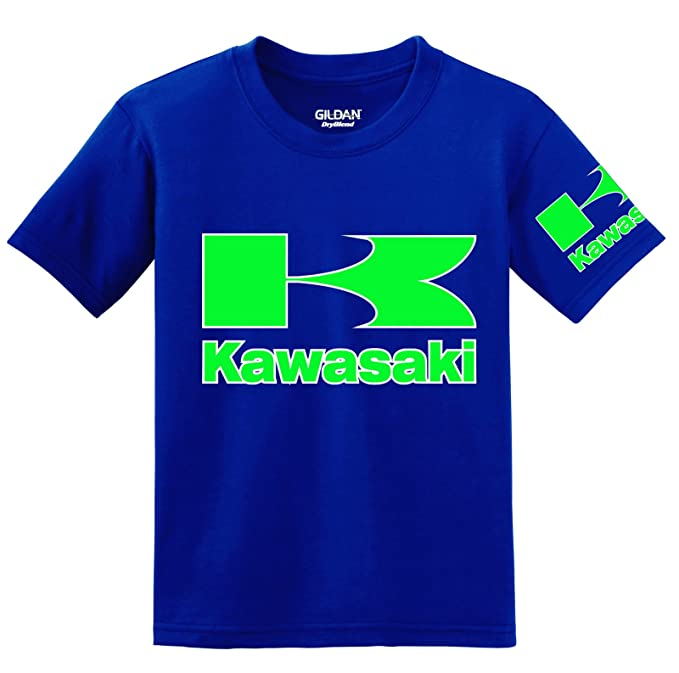 Kawasaki - Camiseta - para hombre azul azul XXXXX-Large