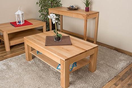 Tavolini In Legno Fai Da Te : Tavolino da salotto in legno di faggio con cassetto amazon