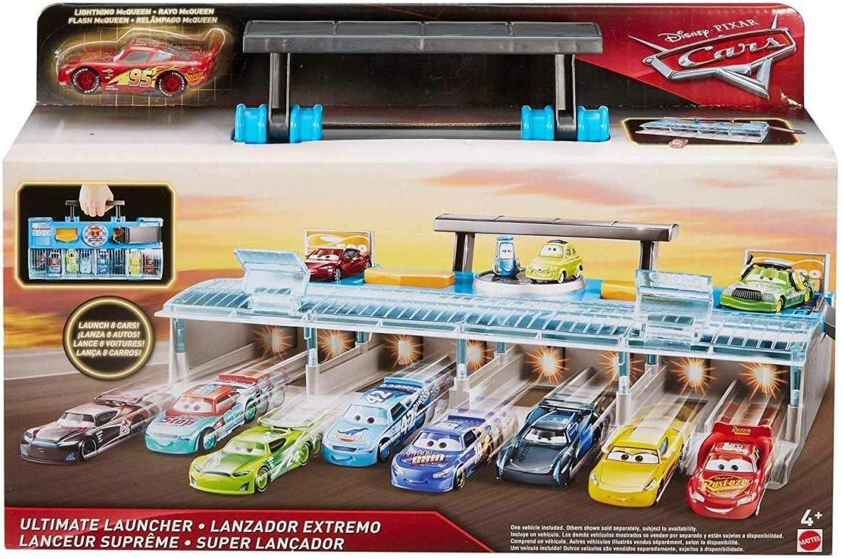 Ultimate LANCIATORE DI VALIGETTA DISNEY Pixar Cars Saetta McQueen giocattolo