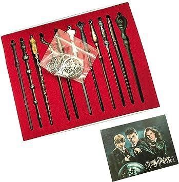 13Pcs//Set Magic Key Chain Pendant Alloy Set For Harry Potter Kids Toys