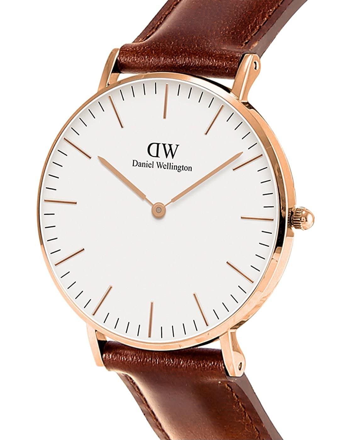 1d2b2315e395 Amazon.com  Daniel Wellington Women s 0507DW Classic St. Mawes Stainless  Steel Watch with Brown Band  Daniel Wellington  Watches