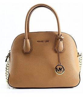 ef7a7f164bda2 Michael Michael Kors Cindy Medium Dome Satchel (Coral)  Handbags ...