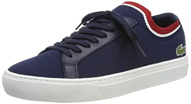 5e30bea5559a Lacoste La Piquée 119 1 Mens Navy White Sneakers-UK 6   EU 39.5
