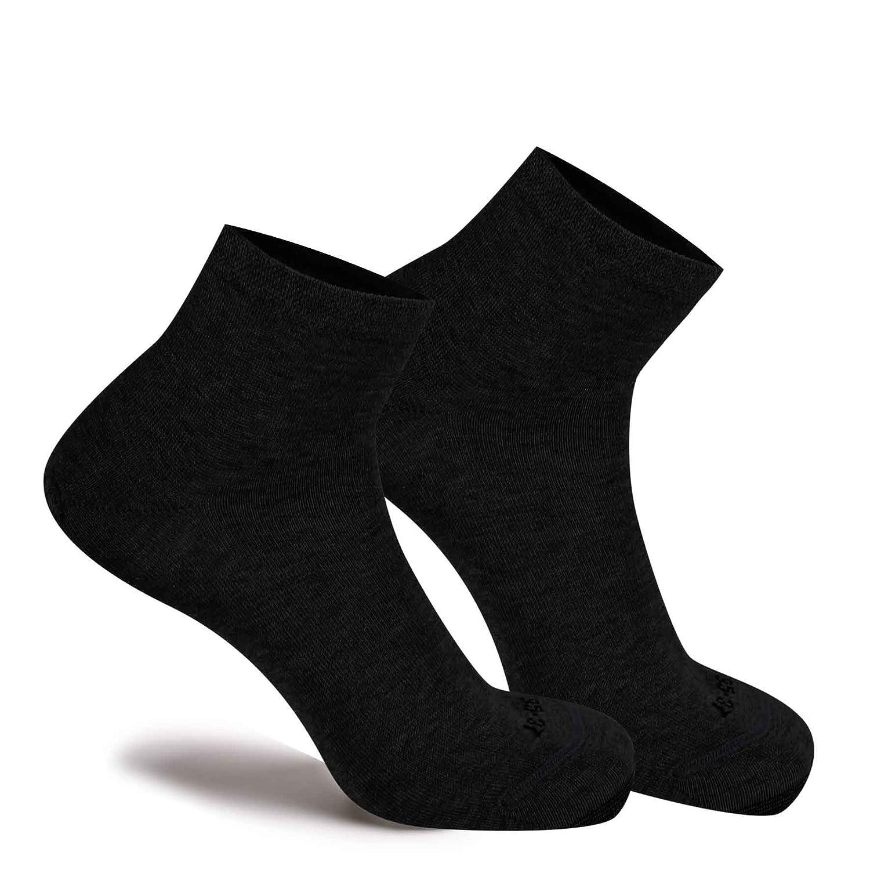 Sprint 3 Pairs of Italian Fil dEcosse Ankle-high Trainer Socks