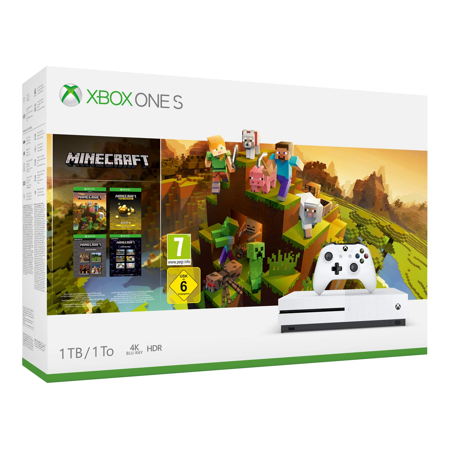 Pack Xbox One S 1 To Minecraft Creators