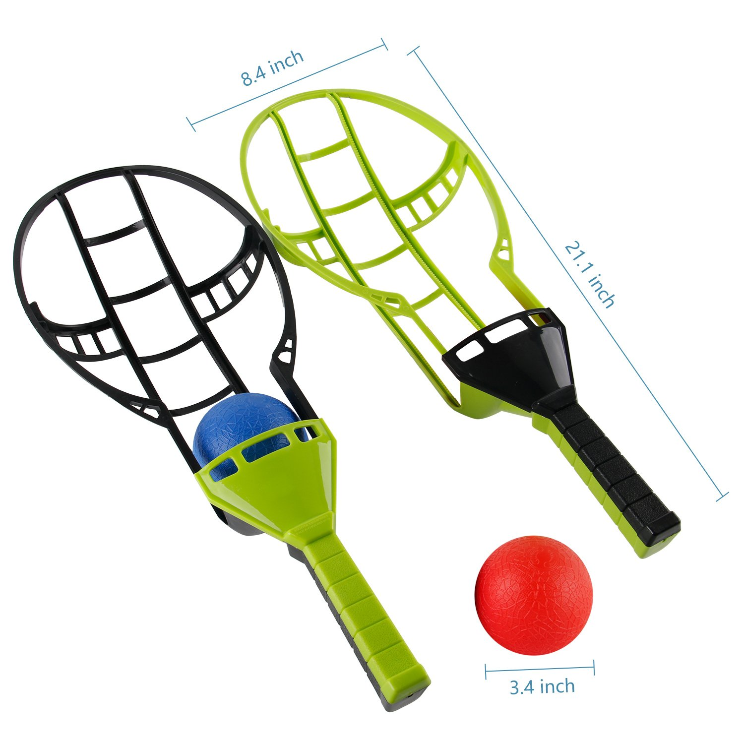 Liberty Imports Trackball Sport Trac Ball Lacrosse Racket Game