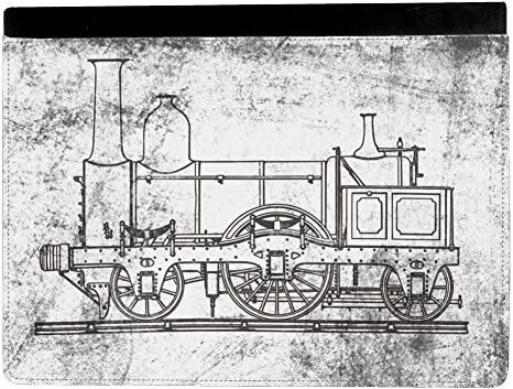Steampunk Train A Vapeur Locomotive Dessin Architectural Apple