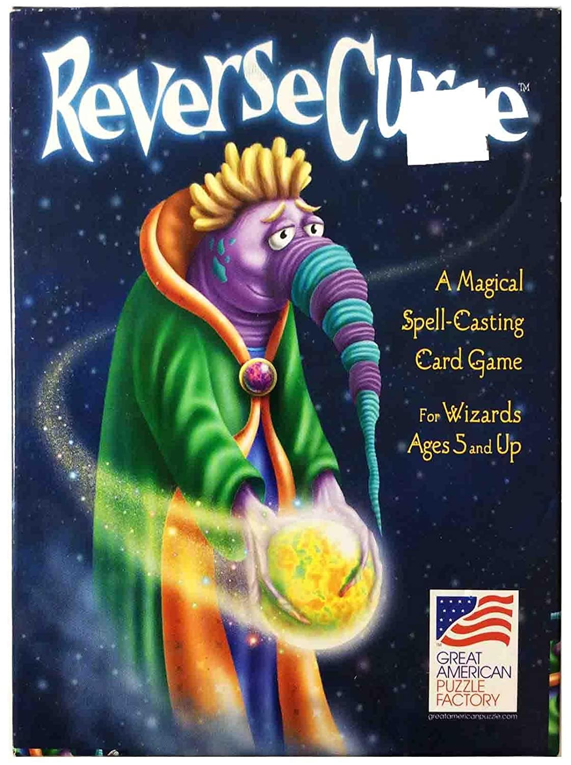 Reverse curse a magical spell casting game