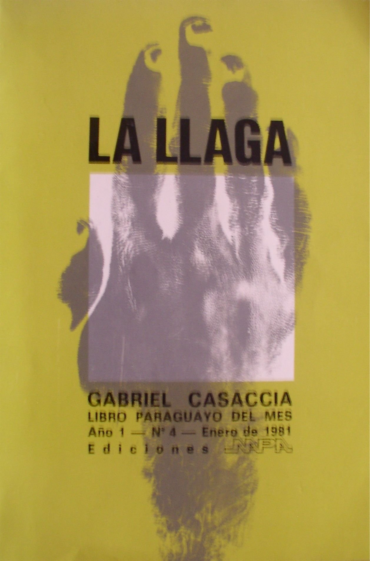 La Llaga (Spanish) Paperback – 1981