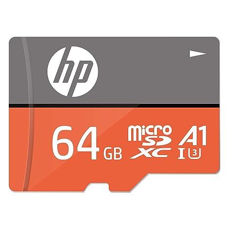 64GB U3, A1 MicroSDXC Tarjeta de Memoria de Alta Velocidad con Adaptador SD - HFUD064-1V31A