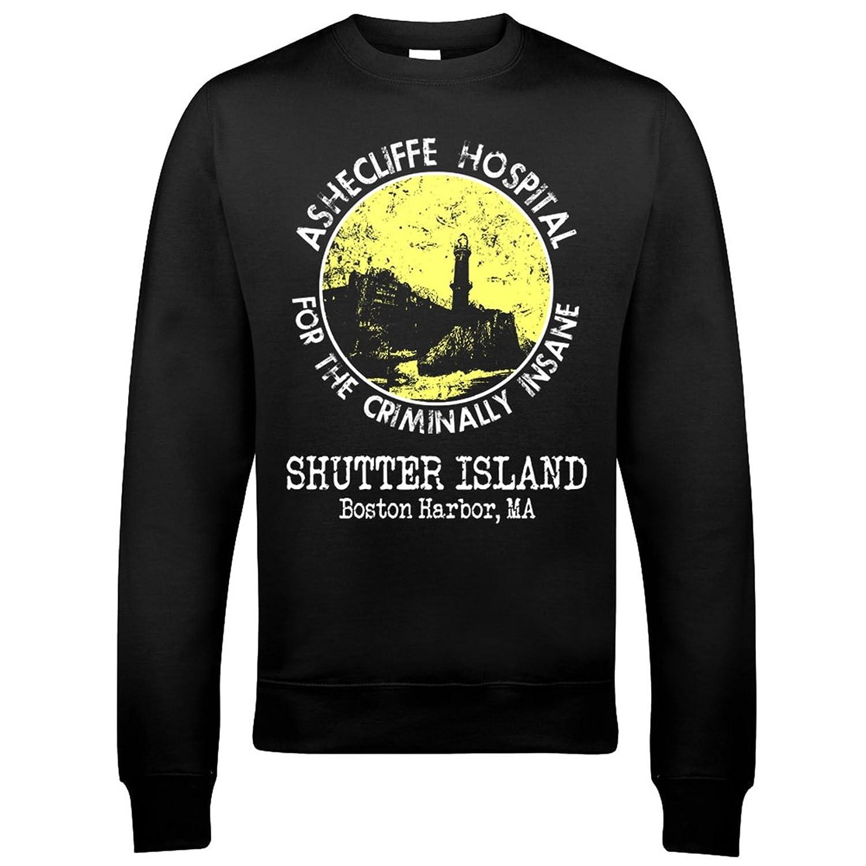 9175 Ashecliffe Hospital Mens Sweatshirt Shutter Island Psychiatric Facility Prison Penitentiary