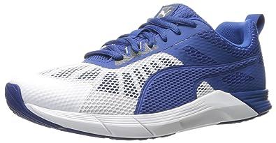 Zapatillas Cross-Trainer Propel para hombre, Puma White-True Blue-Puma White, 9.5 M EE. UU.: Amazon.es: Zapatos y complementos