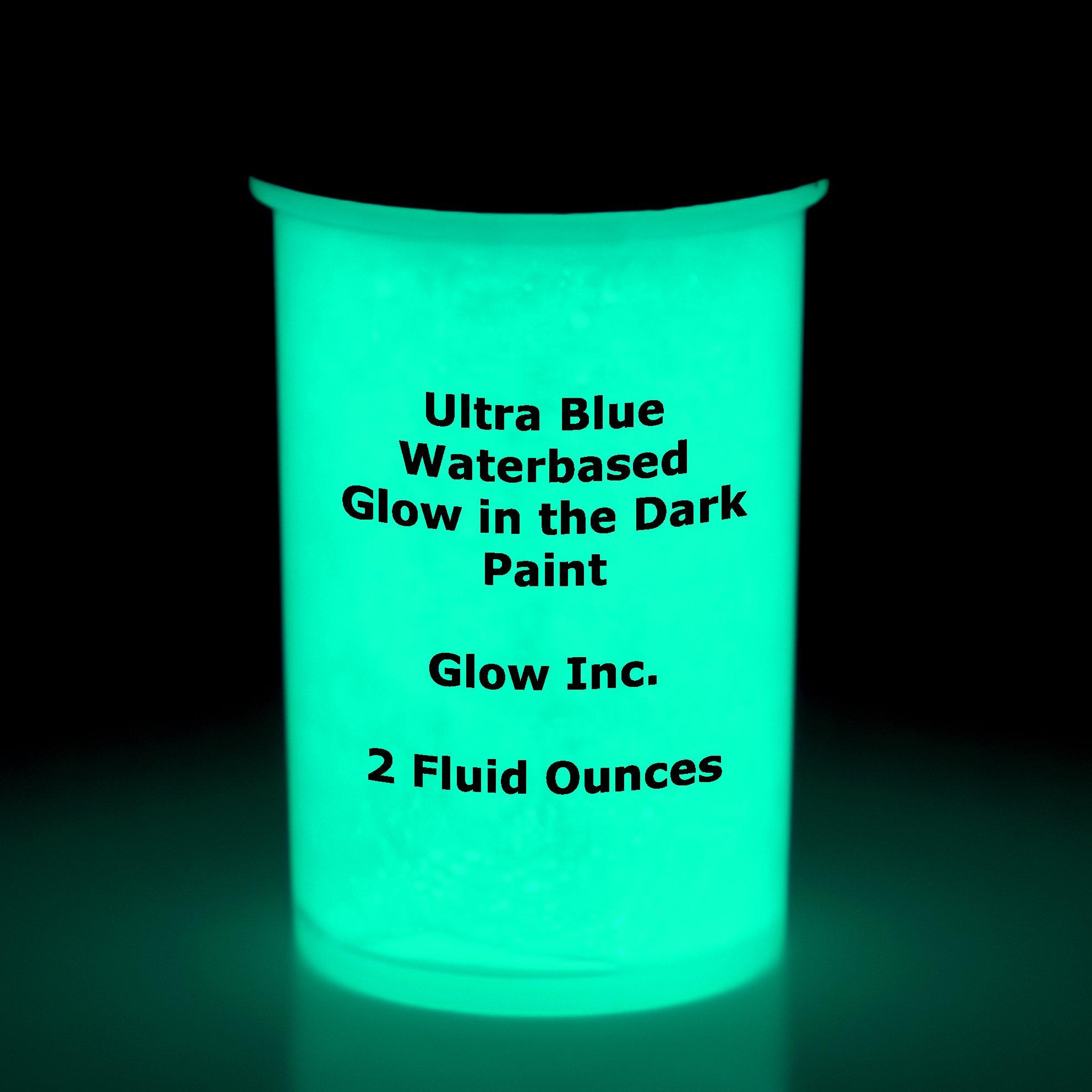 Ultra Blue Glow in the Dark Paint 1 Quart
