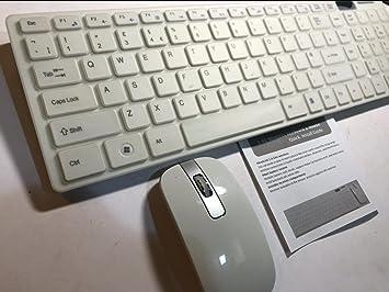 Juego de teclado y ratón inalámbricos para Sony KD-49X8005C 49
