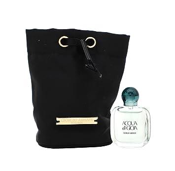 Women Gioia 5ml Pouch Perfume Armani Giorgio Edp And Acqua Di 9WIEDH2