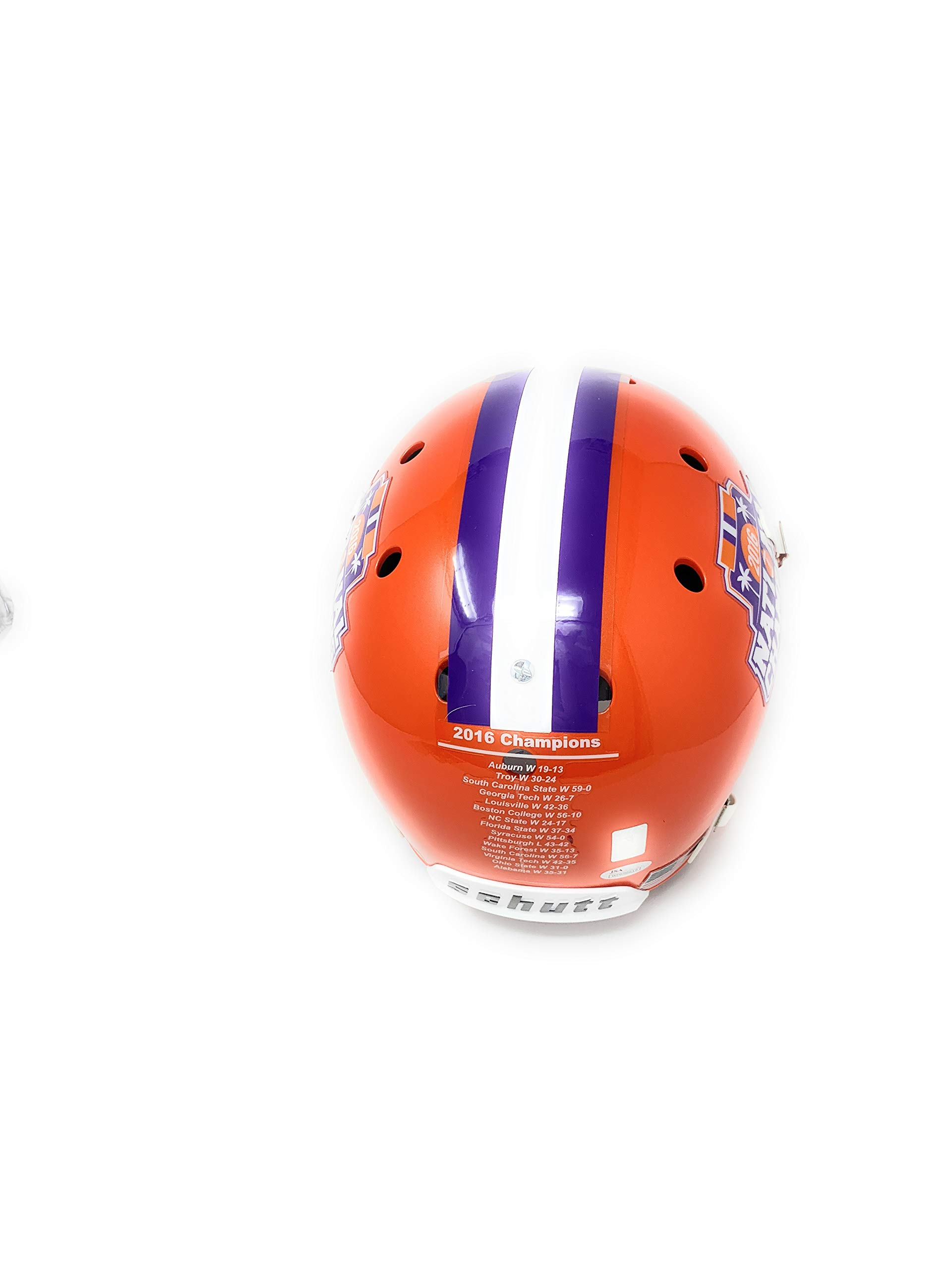 Deshaun Watson Clemson Tigers Signed Autograph Full Size Helmet BCS Champs Edition BCS Logo Watson GTSM Holo JSA Certified
