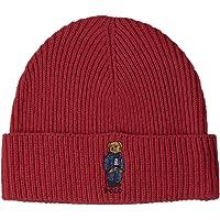 POLO RALPH LAUREN Unisex Bear Design Wool Winter Skulllie Cap Beanie Hat One Size