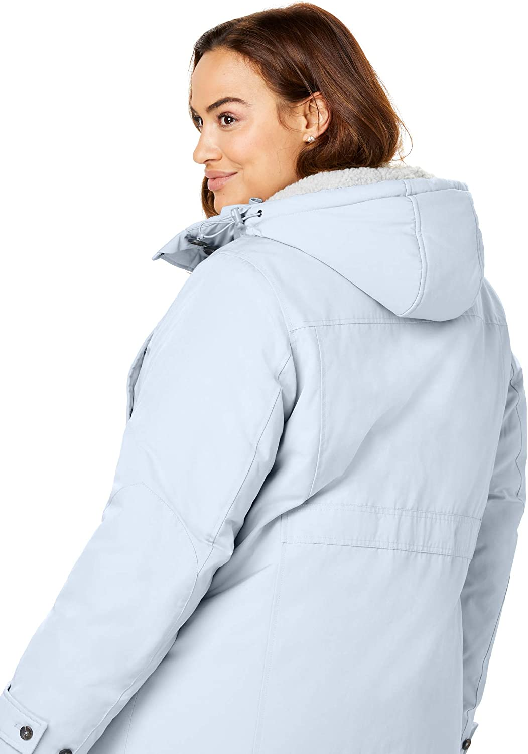 Woman Within Womens Plus Size The Arctic Parka8482;