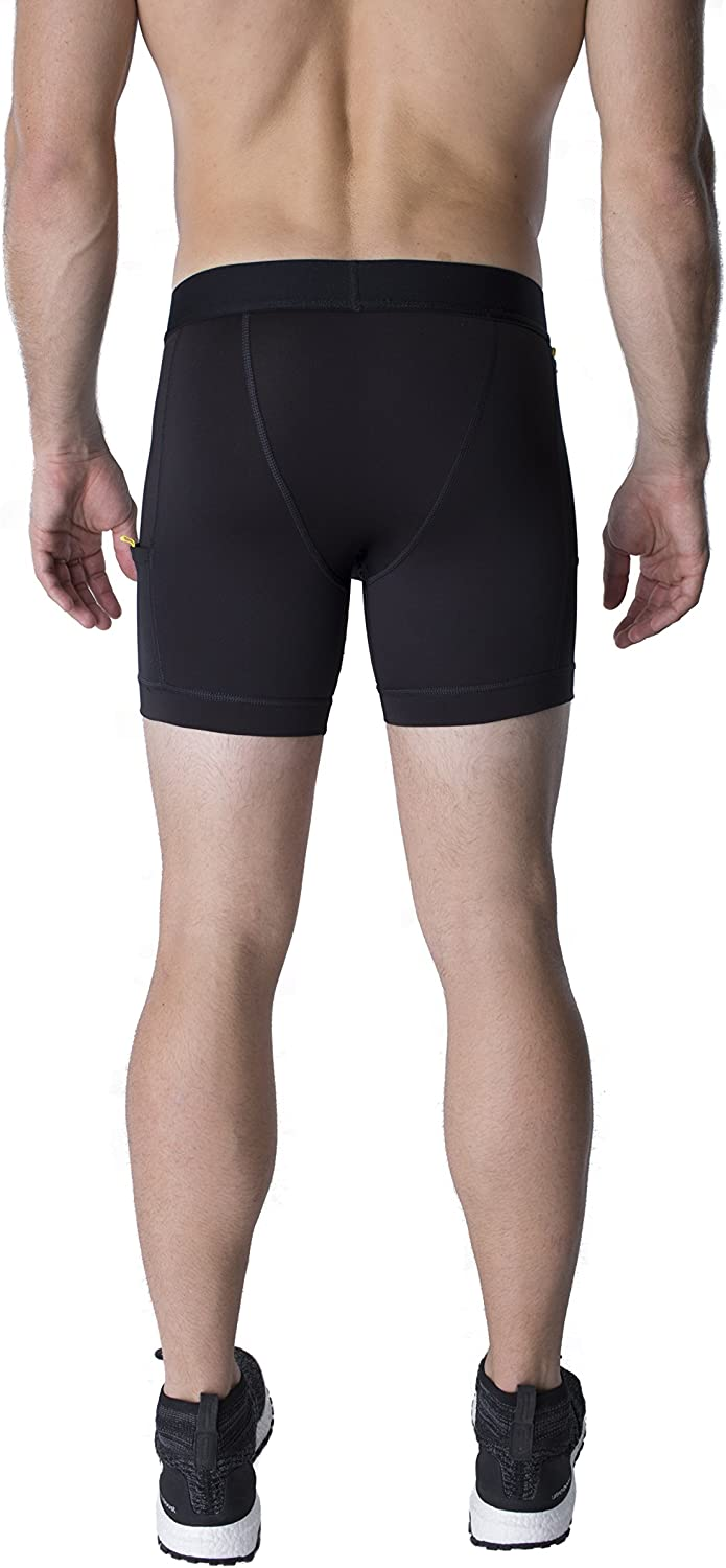 North Moore Compression Shorts Made in America Compact Sports Activewear 6 Inseam