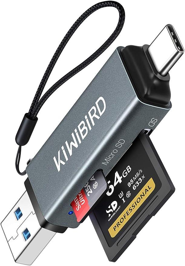Kiwibird Usb C Kartenleser Sd Auf Typ C Adapter Usb Computers Accessories