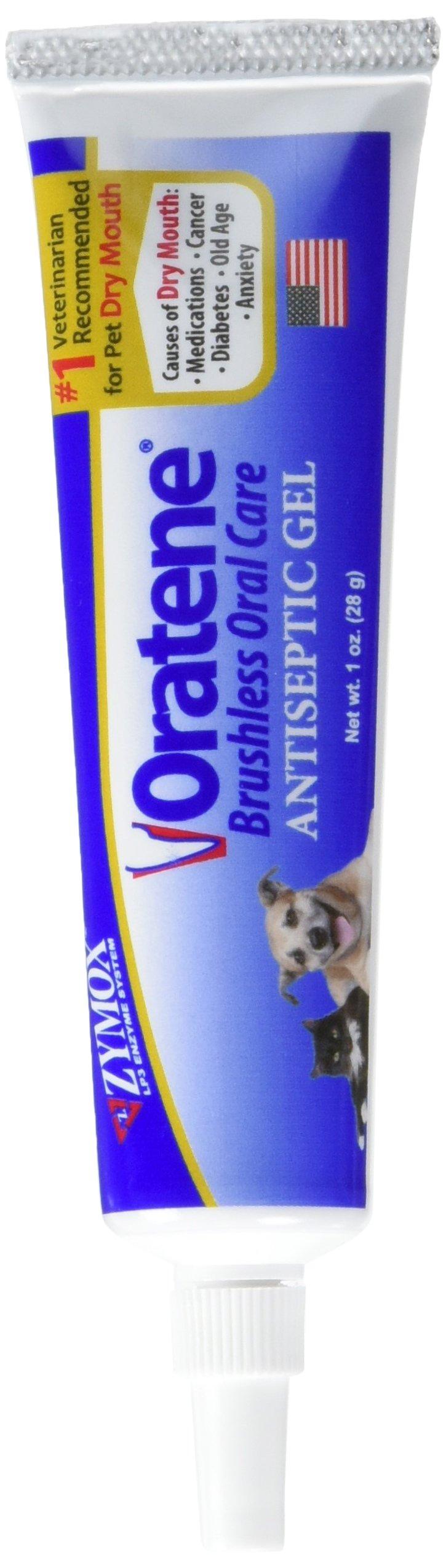 PET KING Oratene Veterinarian Antiseptic Oral Gel, 1.0 oz.