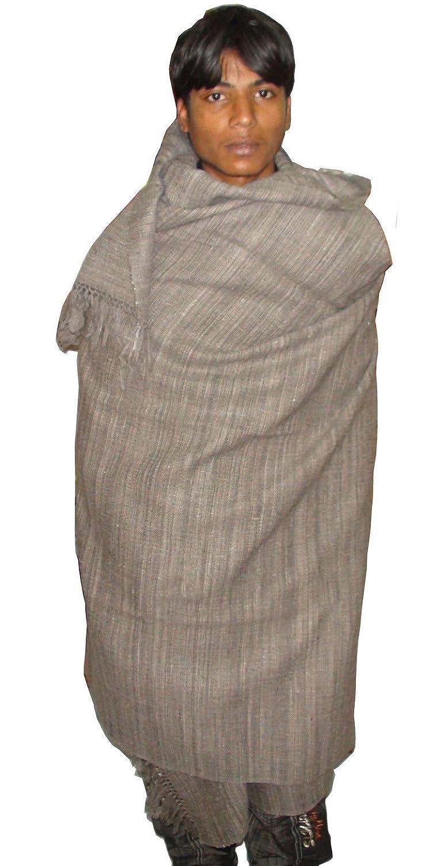 Mens Large Yak Wool Full Body Shawl Chadar